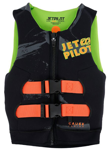 Jetpilot Kids The Cause L50S Black