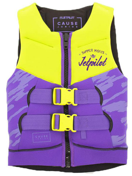 Jetpilot Kids The Cause L50 Purple