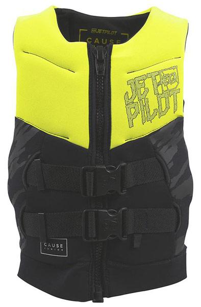 Jetpilot Kids Cause L50 Yellow