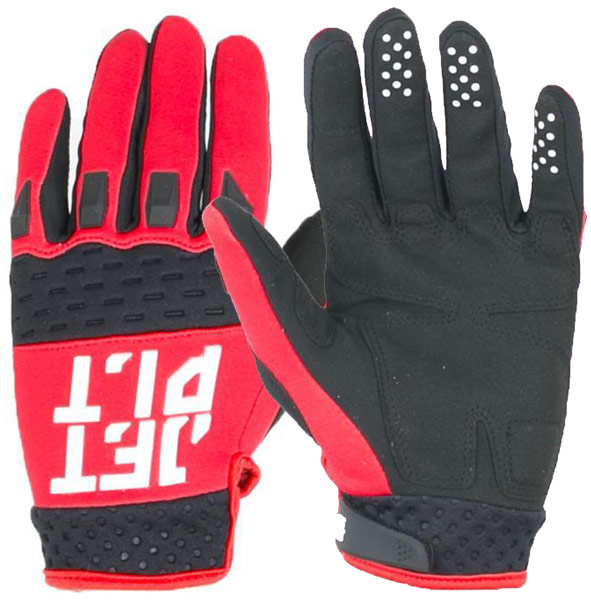 Jetpilot RX Race Red Gloves