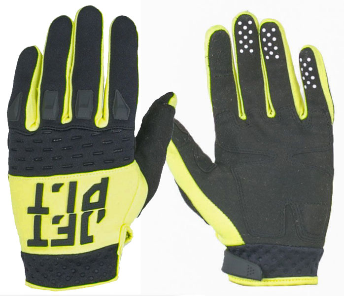 Jetpilot RX Race Gloves Yellow