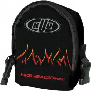 Kuu High Back Binding Pack Flames