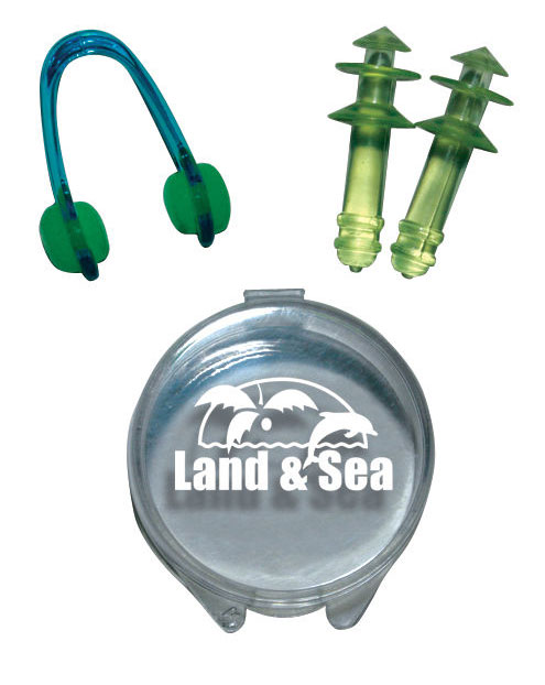 Land & Sea Nose Clip & Ear Plugs
