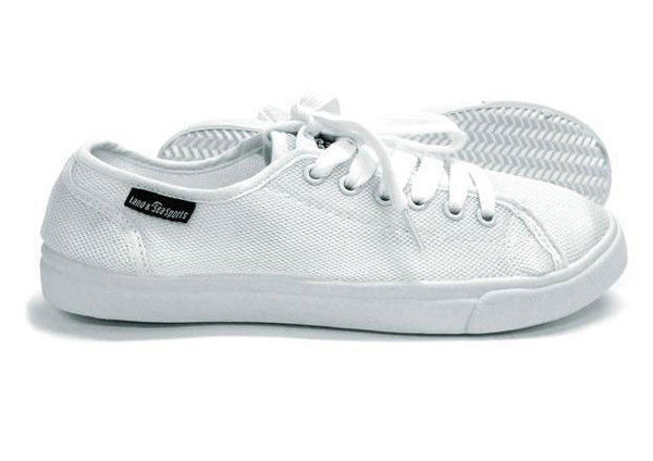 Land & Sea Resort Aqua Sneaker White