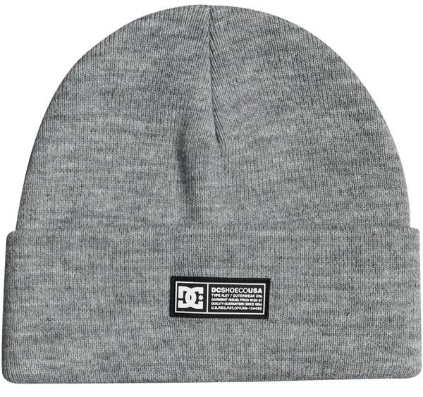 DC Label Grey Beanie