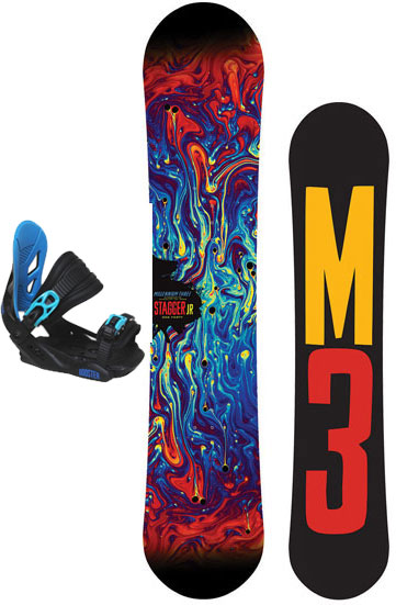 M3 Junior Stagger /Capix Bindings