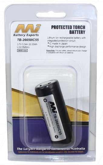 Master Instruments TB-26650IC55 Battery