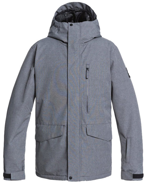 Quiksilver Mission Solid Grey 2021