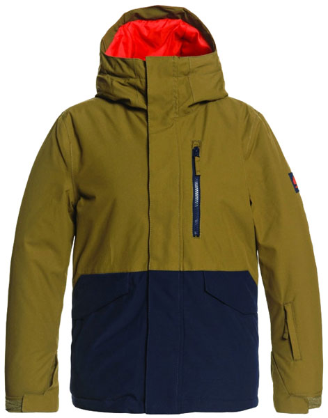 Quiksilver Mission Youth Olive 2021