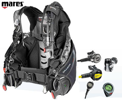 Mares Dragon/Kaila Dive Package