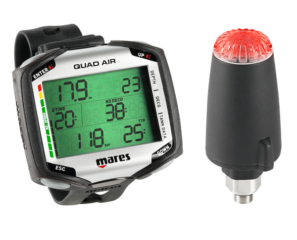Mares Quad Air with Transmitter
