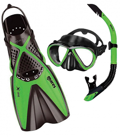 Mares X One Fin Set Green