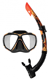 Mirage Flame Mask & Snorkel