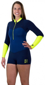 Roxy XY 2mm L/S Springsuit Navy