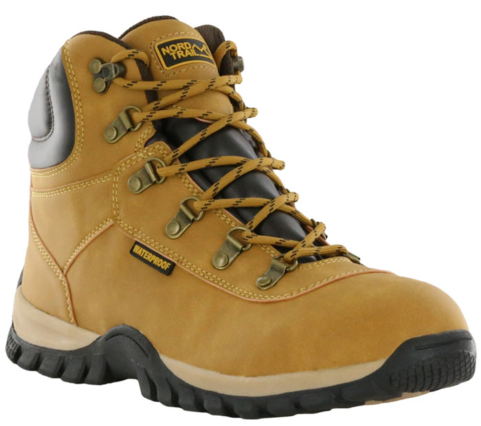 Nord Trail Edge Hi WP Mens Wheat