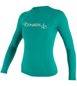 O'Neill Ladies Basic Skins L/S Aqua