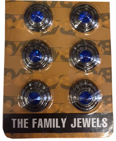 Ollies Backside Family Jewels Studs