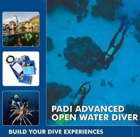 Advanced Diver - Padi Scuba Course