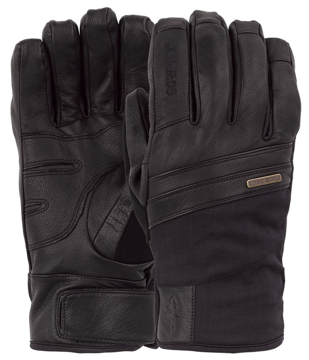 Pow Royal Gore-Tex Black Gloves