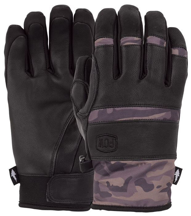 Pow Villain Camo Gloves