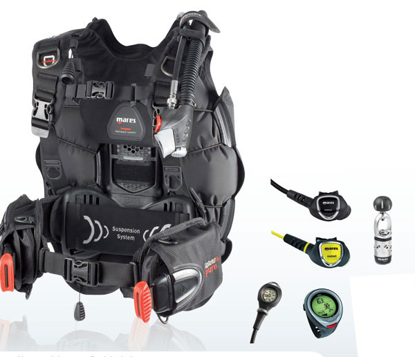Mares Pure Dive Package