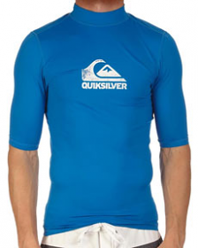 Quiksilver S/S On Point Rash Shirt
