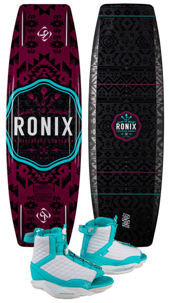 Ronix Quarter 'Til Midnight/Luxe Boots 2020