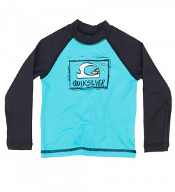 Quiksilver Kids Bubble Dream L/S Blue