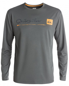Quiksilver La Costa L/S Rash Shirt Grey