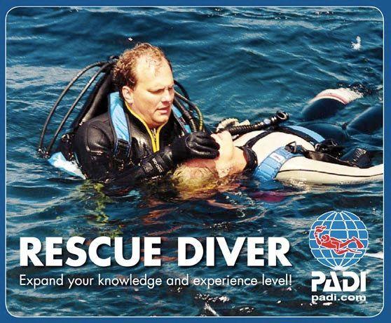 Rescue Diver - Padi Scuba Course