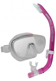 Tusa Ranger Mask & Snorkel Pink