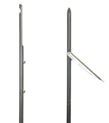 Rob Allen 7.5mm Dbl Finned Railgun Shaft