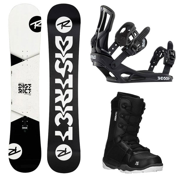 Rossignol District White /Battle /5th Element Boots