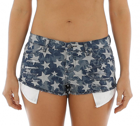 Jetpilot Wanderlust Denim Short