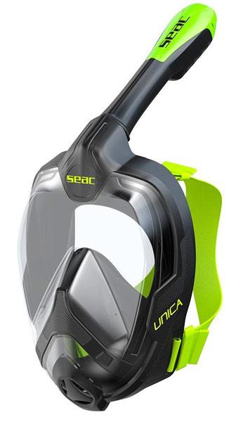 Seac Unica Full Face Mask Black/Green