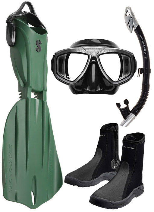 Scubapro Nova 2 Fin Package Army