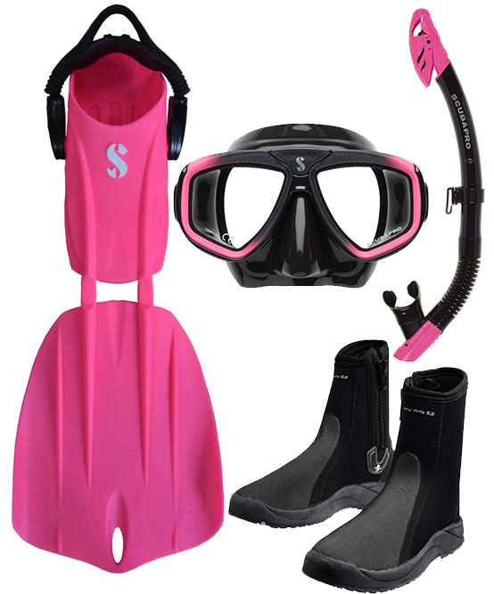 Scubapro Nova 2 Fin Package Pink