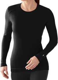 Smartwool Ladies Thermal Top Black