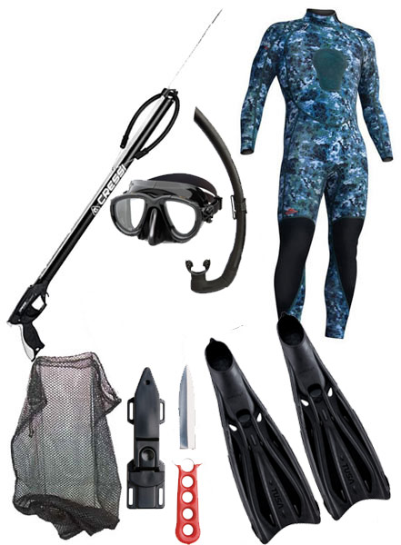 Spearfishing Package #3B