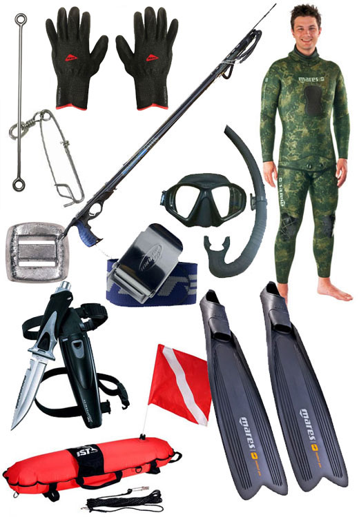 Spearfishing Package The Step Up