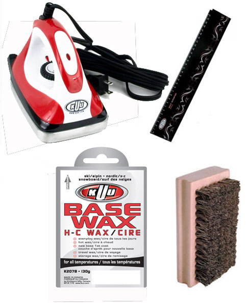 KUU Iron & Waxing Kit
