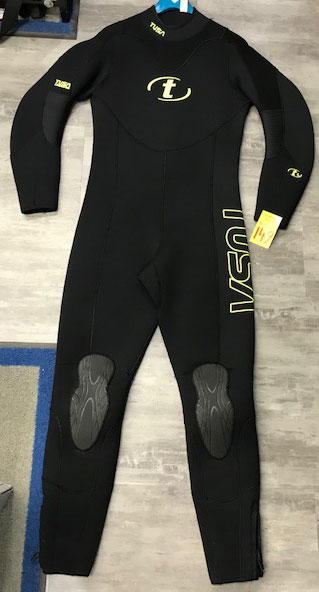 Tusa Mens 5mm wetsuit Ex Rental