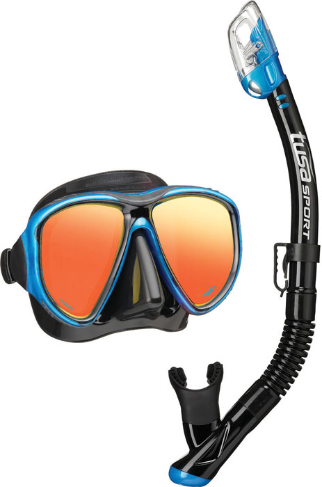 Tusa Powerview Mask & Snorkel Blue