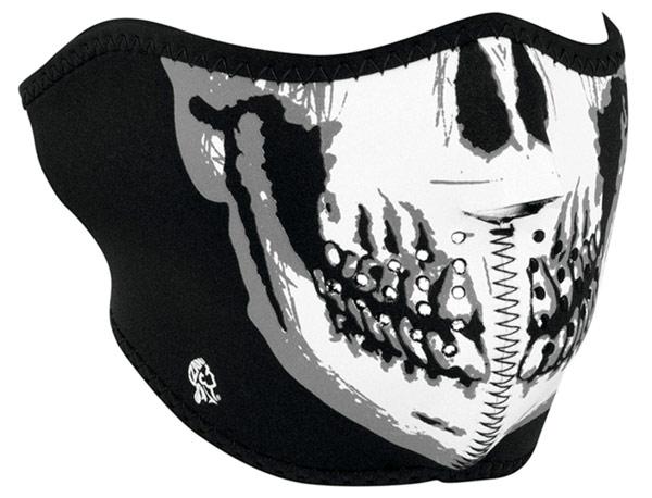Zanheadgear Half Face mask Skull