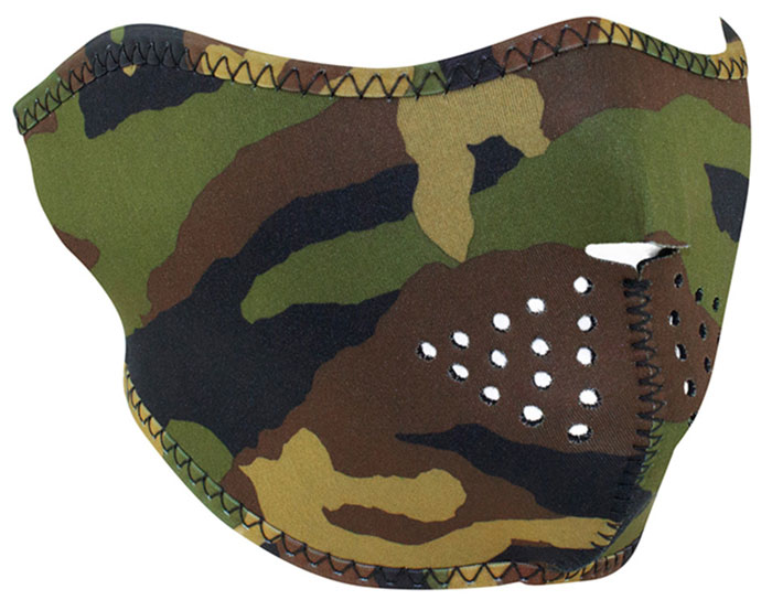 ZANheadgear Neo Half Mask Camo