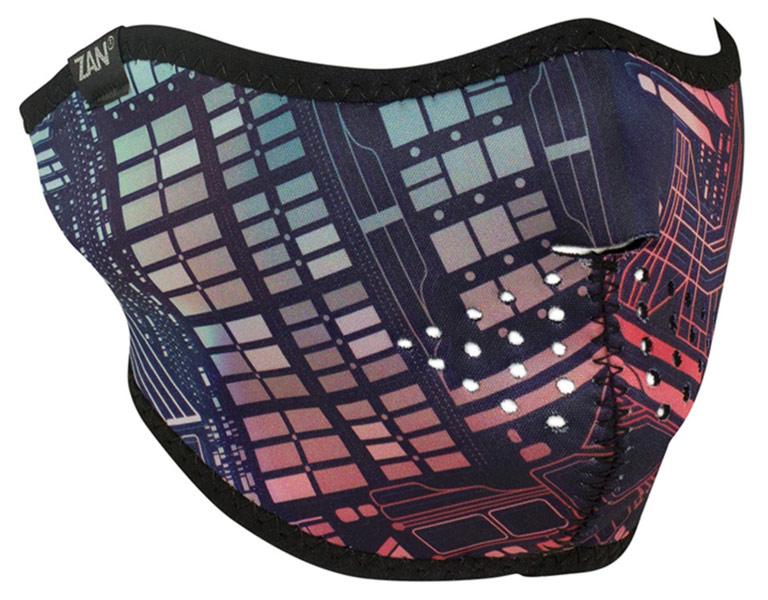 Zanheadgear Half Face mask Neon