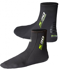 WP S30 Soft Boots 2mm Fin sox