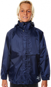 XTM Stash Rain Jacket Blue