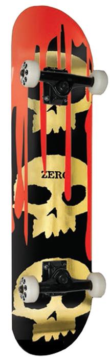 Zero 3 Skull Blood Gold Foil 7.75
