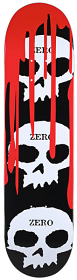Zero 3 Skull Blood Black 7.875""
